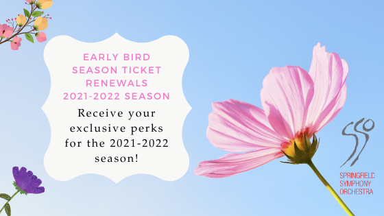 21/22 Early Bird Season Ticket Renewals Graphic