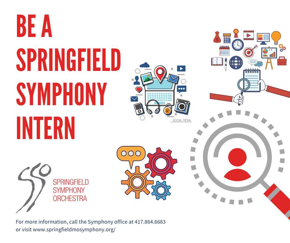 Be a Springfield Symphony Intern Graphic