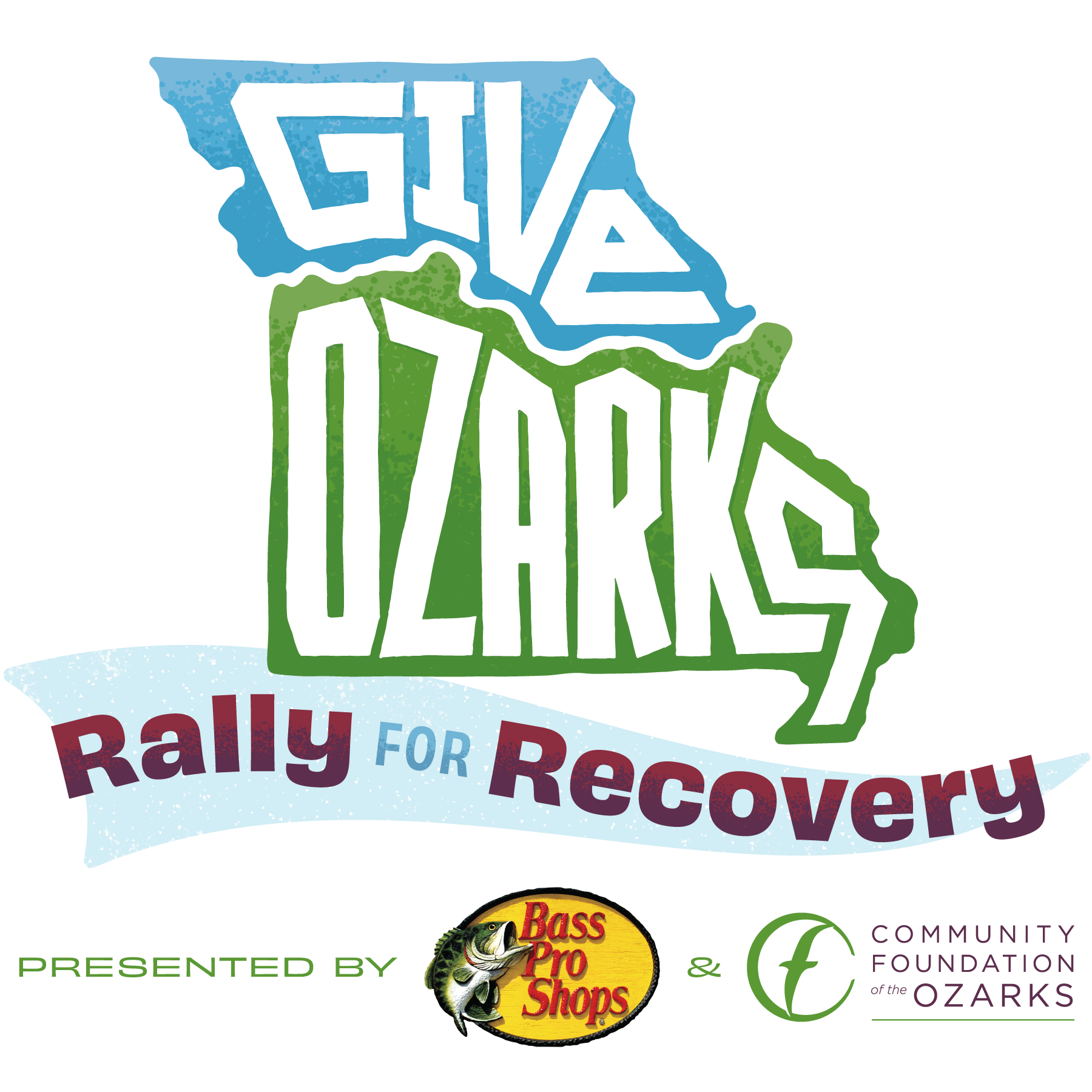 Give Ozarks: Rally for Recovery Logo