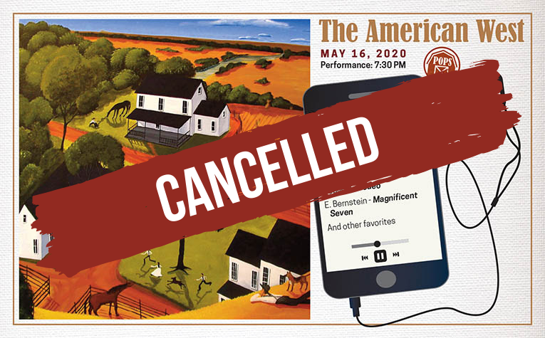 Cancelled May 16th - The American West